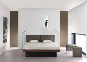 Profine waterbed: vogue Hoofdbord: Kos Accessoires: U Bench